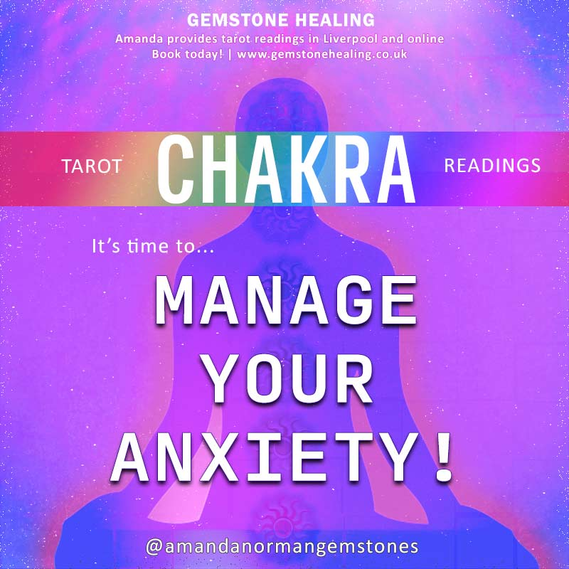 Let Amanda from Gemstone Healing help you to manage your anxiety