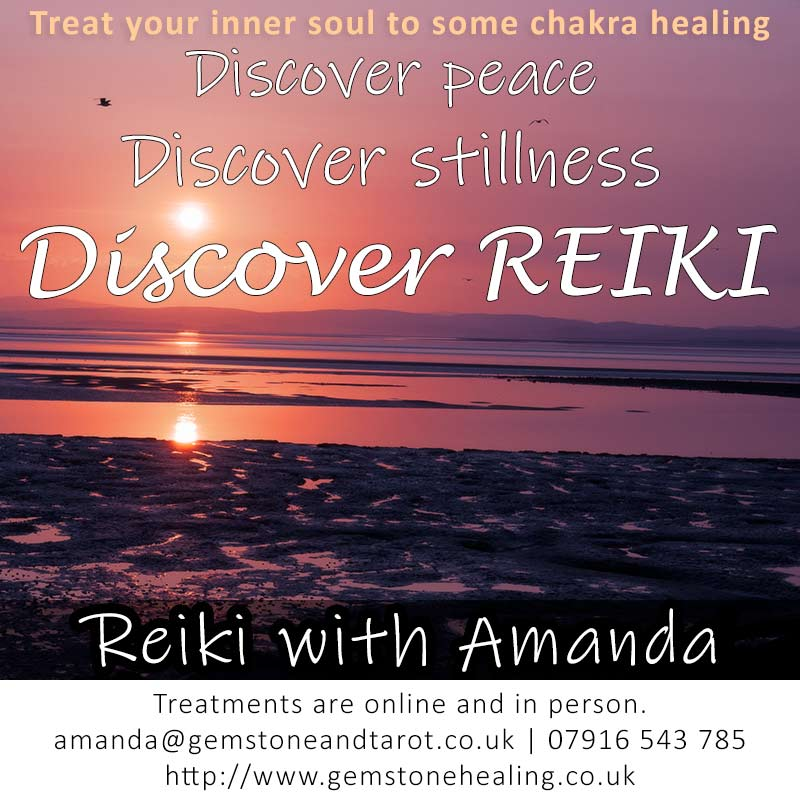 Reiki treatments in Liverpool with Amanda Norman from Gemstone Healing