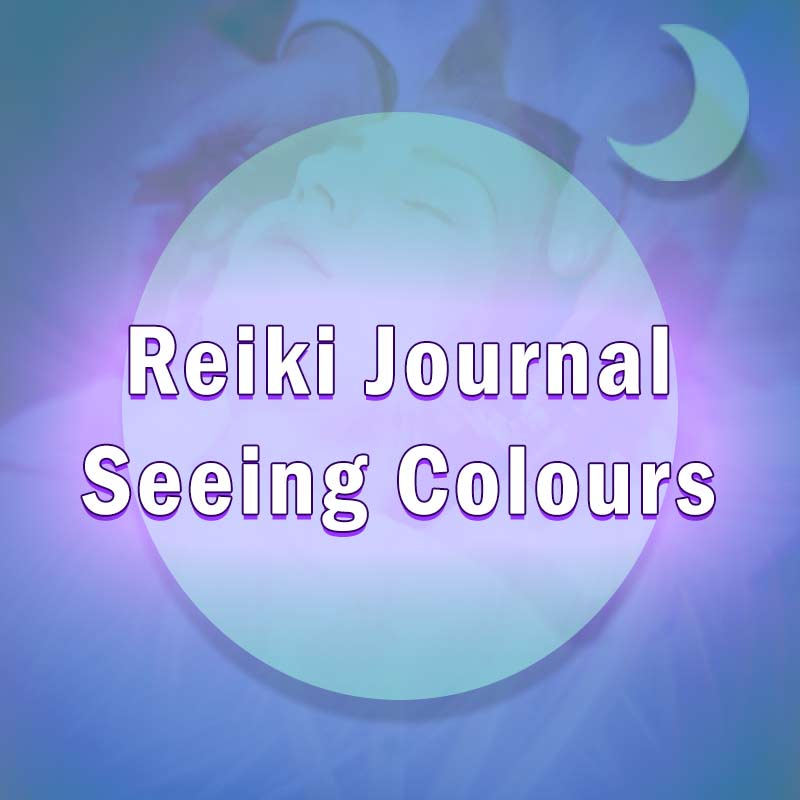 This journal details the colours my clients see during a reiki treatment and what they could mean