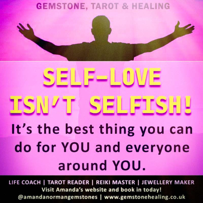 Self-love isn't selfish! It's the best thing you can do for YOU and everyone around you!